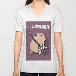 Harry Hammerhead Unisex V-Neck