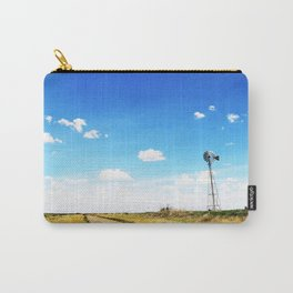 Windmill in the Texas Panhandle Carry-All Pouch