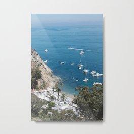 Santa Catalina Island Beach Art Print Metal Print