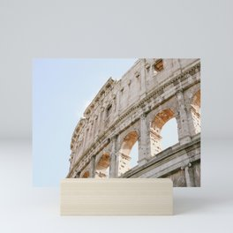 Colosseum in Rome, Italy Mini Art Print