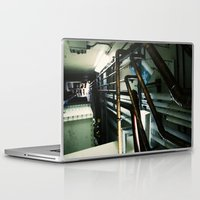 industrial Laptop & iPad Skins featuring Industrial by Nina Saunders