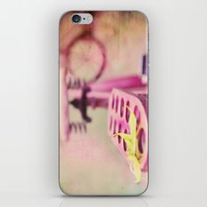 I Rode My Bicycle Past Your Window Last Night iPhone & iPod Skin