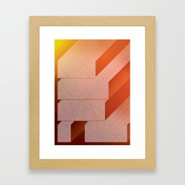 Find a way Framed Art Print