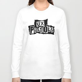 UX Pistols (black) Long Sleeve T-shirt