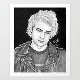 Mikey clifford drawing Art Print
