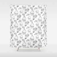 manatee Shower Curtains featuring Manatee  by Jummy's World