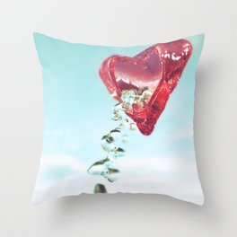 Pour Your Heart Out Throw Pillow