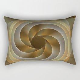 Artistic movement, fractal abstract Rectangular Pillow