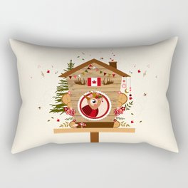 Cabane à oiseau au Canada Rectangular Pillow