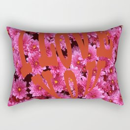 loves flower Rectangular Pillow