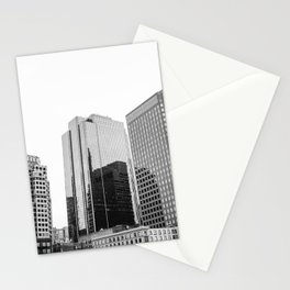 Boston Rooftop Views Stationery Cards