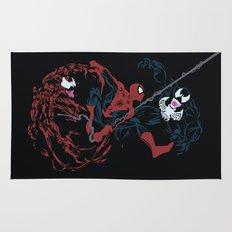 Spider-man - Carnage VS Spidey VS Venom Rug