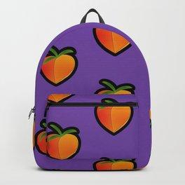 Georgia Peach (Purple) Backpack