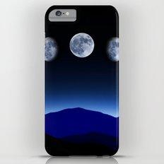 Moon Phases #blue iPhone 6s Plus Slim Case