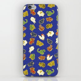 Cute animal pattern iPhone Skin