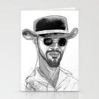 django Stationery Cards featuring Django by Andy Christofi