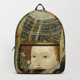 Portrait of Elizabeth I Backpack