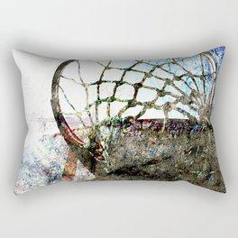 basketball vs 42 Rectangular Pillow