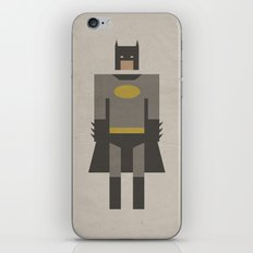The Dark Night Retro iPhone & iPod Skin