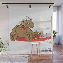 Teddy Revamp Wall Mural