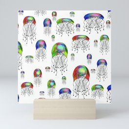 JELLYFISH BLOOM Mini Art Print