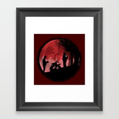 True Detective - Horrors of life Framed Art Print