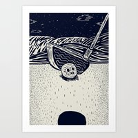 golf Art Prints featuring Golf by Ido Back