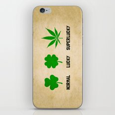 Cannabis / Hemp / Shamrock - Super Lucky mode iPhone Skin