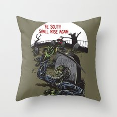 The South Shall Rise Again Throw Pillow