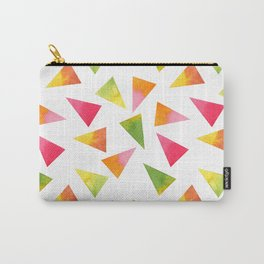 Beautiful Colorful Triangles Carry-All Pouch