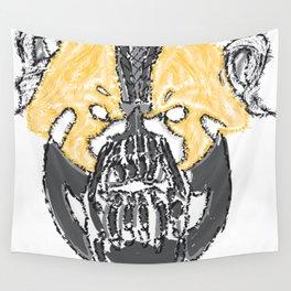I Will Break You Panda Wall Tapestry