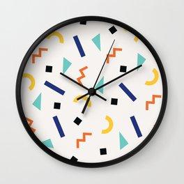 Memphis Feels Wall Clock