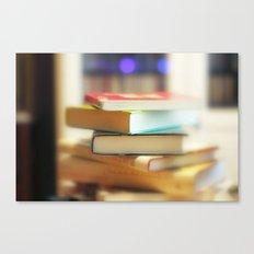 I love books Canvas Print