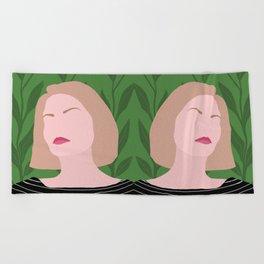 Tropical Robyn Beach Towel