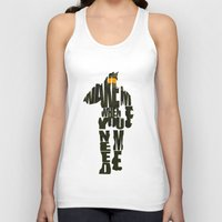 master chief Tank Tops featuring Master Chief by Ayse Deniz