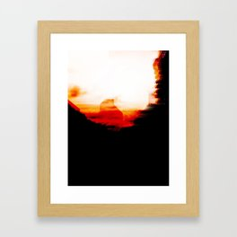 Still there Framed Art Print