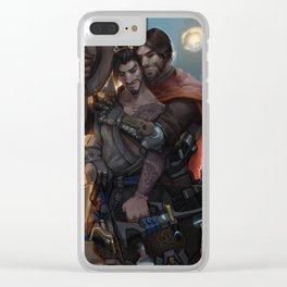Kings Row Clear iPhone Case