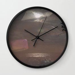 Crystal Palaces Wall Clock