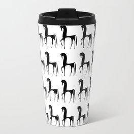 Black Horses #decor #society6 Travel Mug