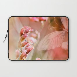 ROSE SPANGLES no5-QF-Butterfly Laptop Sleeve