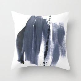 brush strokes 10 Throw Pillow