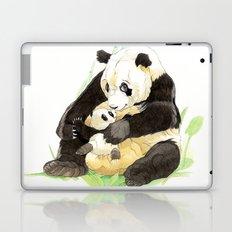 Panda Mom Laptop & iPad Skin