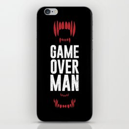 Game Over Man iPhone Skin