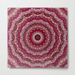 Mandala , kaleidoscope 22 Metal Print