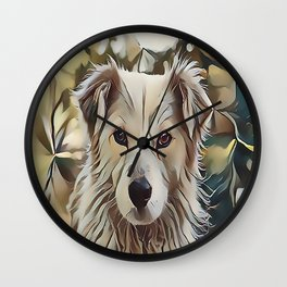 The Catahoula Leopard Dog Wall Clock