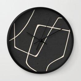 Minimal Abstract Art 25 Wall Clock