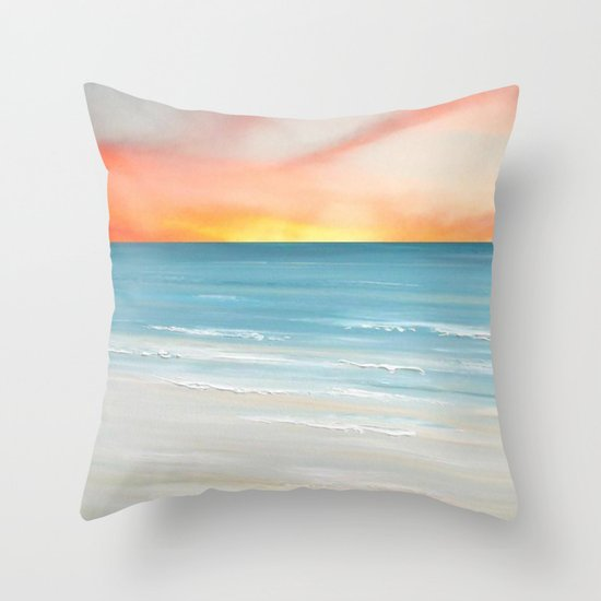 View From The Villa Throw Pillow
