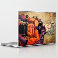 magneto Laptop & iPad Skins featuring magneto by Brian Hollins art