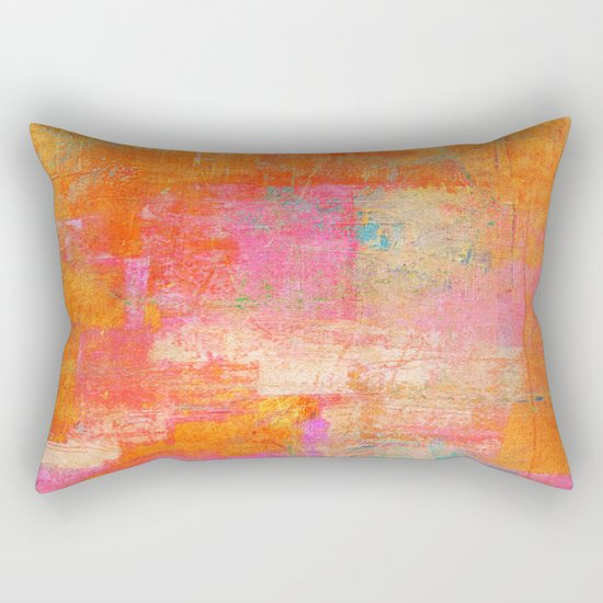 Littered Colors Rectangular Pillow