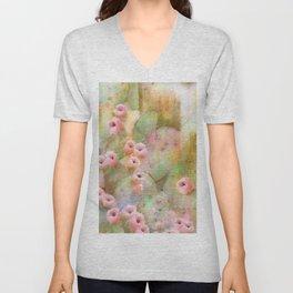Cactus Rose I Unisex V-Neck